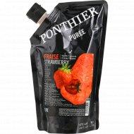 Пюре ягодное «Ponthier» охлаждённое, клубника, 1 кг.