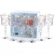 Набор бокалов для вина «Bohemia Crystal» Q8984/250, 6 штук, 250 мл