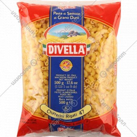 Макаронные изделия «Divella» №47 киффери, 500 г.