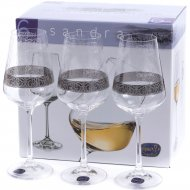 Набор бокалов для вина «Bohemia Crystal» Q9171/250, 6 штук, 250 мл