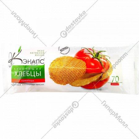 Хлебцы хрустящие «Кэнапс» томатные, 70 г.