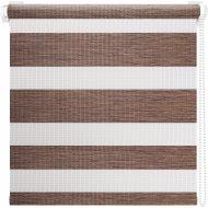 Рулонная штора «АС Март» Вудэн, 014.14, кофейный, 57х160 см
