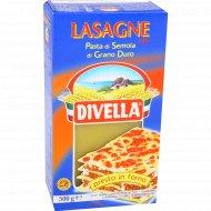 Макаронные изделия «Divella» № 109 лазанья, 500 г.