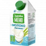 Молоко рисовое «Здоровое меню» 1%, 500 мл.