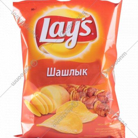 Чипсы «Lay's» со вкусом шашлыка, 80 г.
