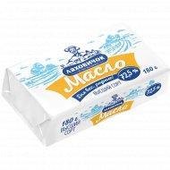 Масло сладкосливочное «Ляховичок» Крестьянское, несоленое, 72.5%, 180 г