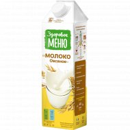 Молоко овсяное «Здоровое меню» 1л.