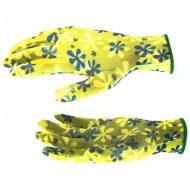 Перчатки садовые из полиэстера, размер M.
