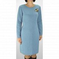 Платье женское «Romgil» серо-голубое.