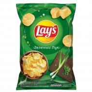 Чипсы «Lay's» со вкусом зелёного лука, 150 г.
