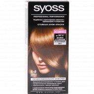 Крем-краска для волос «Syoss» темно-русый 6-8.