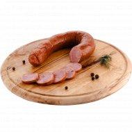 Колбаса «Дубовая из индейки» копчено-вареная, высшего сорта, 1 кг., фасовка 0.25-0.32 кг