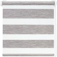 Рулонная штора «АС Март» Вудэн, 014.04, светло-серый, 85х160 см