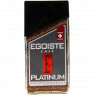Кофе растворимый сублимированный «Egoiste» Platinum, 100 г.