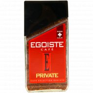 Кофе растворимый сублимированный «Egoiste» Private, 100 г.