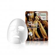 Тканевая маска для лица «3W Clinic» с экстрактом красного женьшеня, 23 г.
