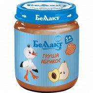 Пюре «Беллакт» груша-абрикос 100 г