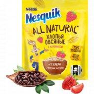 Хлопья овсяные «Nesquik» All Natural с какао и клубникой, 37 г