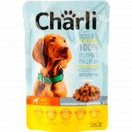 Консервированный корм для собак «Charli» с курицей, 100 г.
