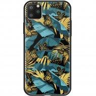 Чехол «Deppa» Glass Case для Apple iPhone 11 Pro Max 87268 джунгли