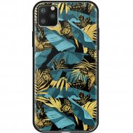 Чехол «Deppa» Glass Case для Apple iPhone 11 Pro Max 87268 джунгли.