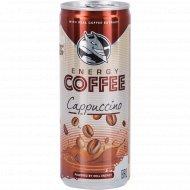Напиток энергетический «Energy Coffee» Cappuccino, 0.25 л