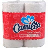 Полотенца бумажные «Camilla» 57 листов, 2 рулона.