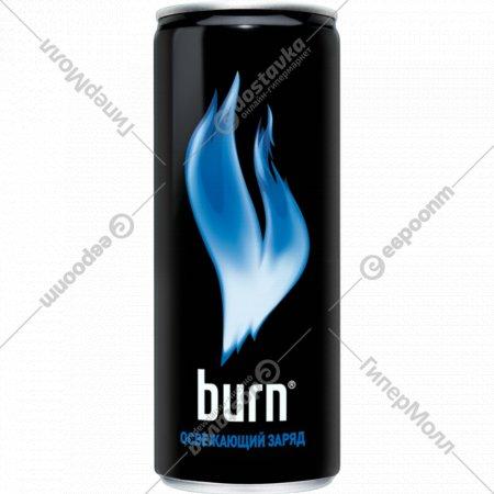 Напиток энергетический «Burn» освежающий заряд 0.25 л.