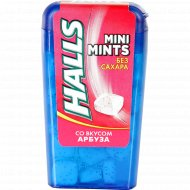 Конфеты «Halls» Mini Mints, со вкусом арбуза, 12.5 г.
