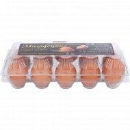Яйца куриные «Солигорская птицефабрика» Молодецкие, с селеном, С2, 10 шт