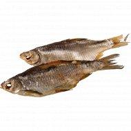 Рыба «Вобла» сушено-вяленая, 1кг., фасовка 0.15-0.2 кг