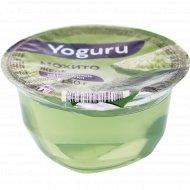 Желе из молочной сыворотки «Yoguru» мохито, 150 г