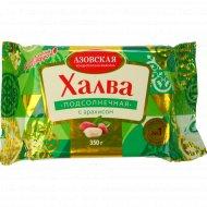 Халва «АКФ» подсолнечная с арахисом, 350 г.