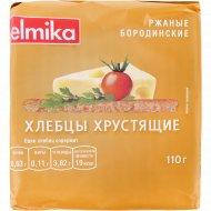 Хлебцы «Эльмика» ржаные, бородинские, 110 г