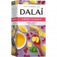 Чайный напиток «Dalai» с имбирем и цедрой лимона, 25х1.2 г.