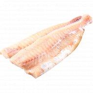 Рыба быстрозамороженая «Филе трески» 1 кг.