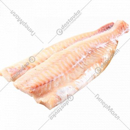 Рыба быстрозамороженая «Филе трески» 1 кг., фасовка 0.6-1 кг