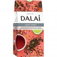 Чай черный «Dalai» цедра апельсина-василек-маслом бергамота, 100 г.