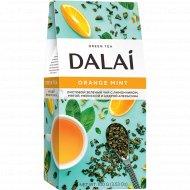Чай зеленый листовой «Dalai» Orange Mint, 100 г.