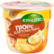 Пюре картофельное «Кунцево» с белыми грибами, 40 г