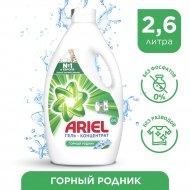 Гель для стирки «Ariel» Горный родник, 2.6 л