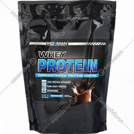 Протеин сывороточный «Whey Protein» шоколад, 500 г.