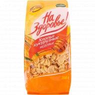 Кукурузные хлопья «На здоровье» медовые, 350 г