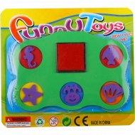 Игрушка - набор «Веселые штампики».