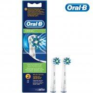 Насадки для зубной щетки «Oral-B» Cross Aсtion, 2 шт.