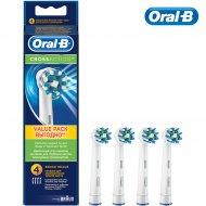 Насадки для зубной щетки «Oral-B» Cross Aсtion, 4 шт.