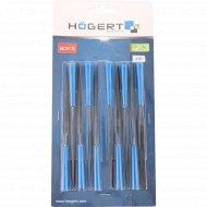 Набор алмазных надфилей «Hogert» HT3B809, 10 шт.