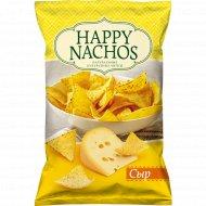 Чипсы кукурузные «Happy Nachos» со вкусом сыра, 150 г