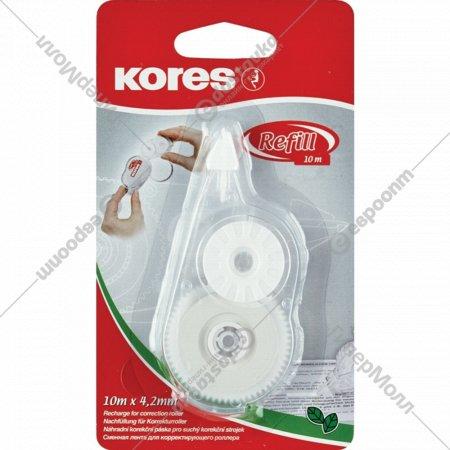 Сменный блок для корректора «Kores» прозрачный, блистер