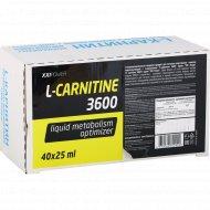 Напиток жиросжигающий «L-карнитин 3600» 40х25 мл.